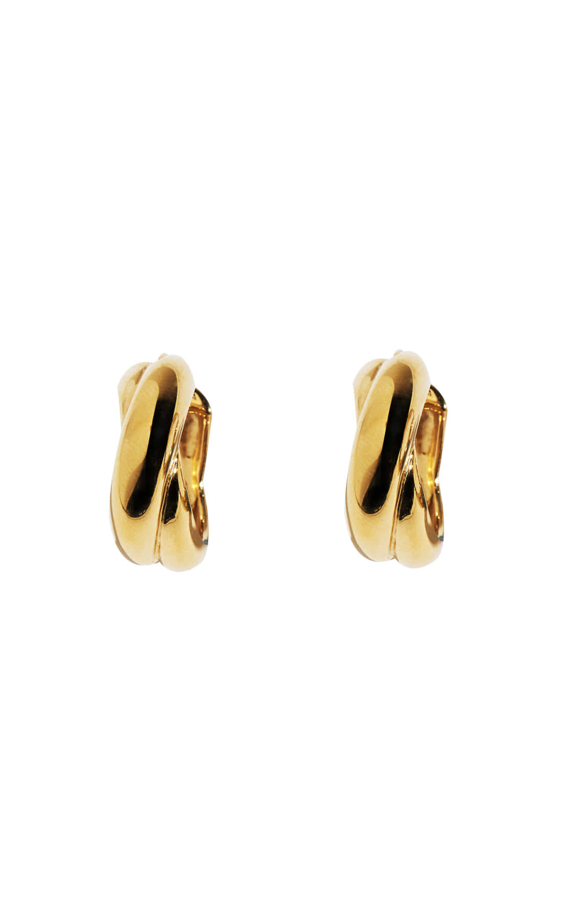TWIST EARRING 24K