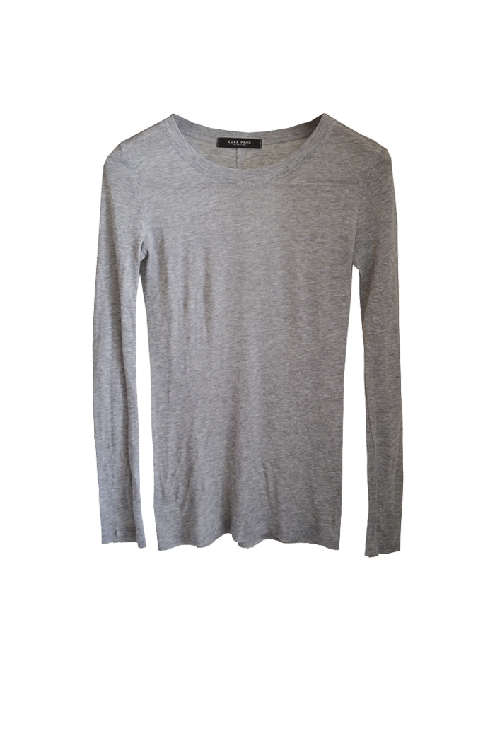 KNIT LONG SLEEVES TEE