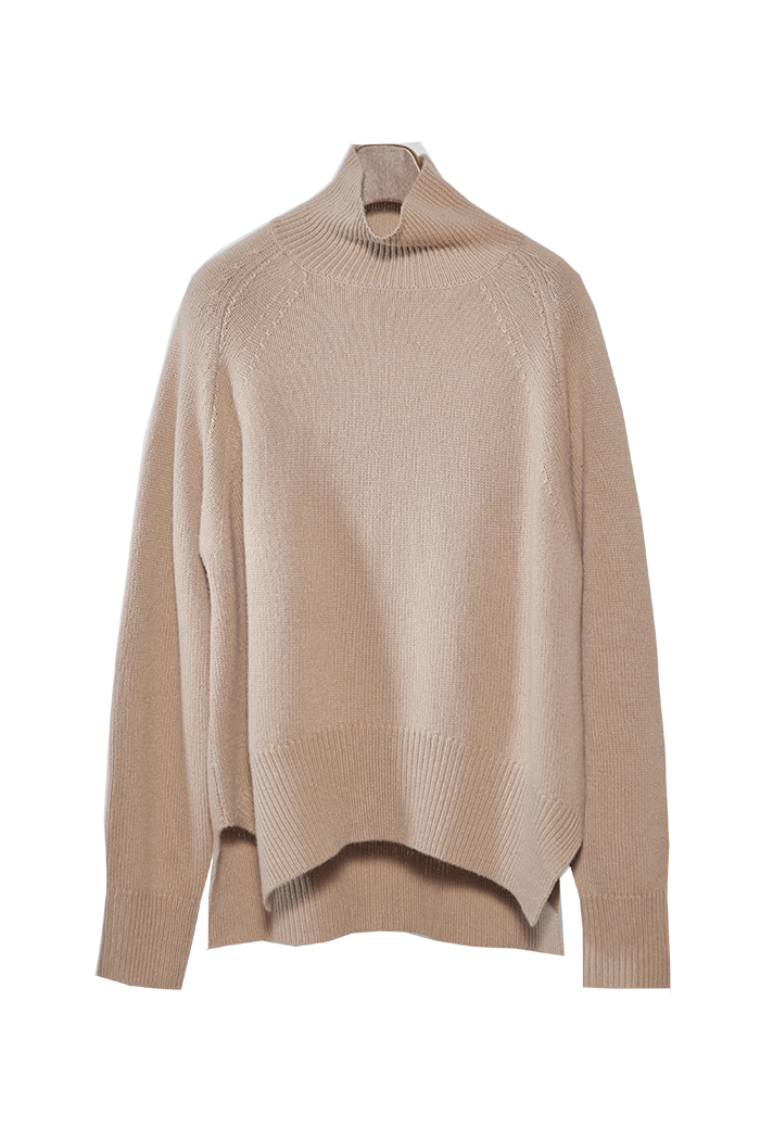 PULL OVER 100% CASHMERE KNIT (7 COLORS)